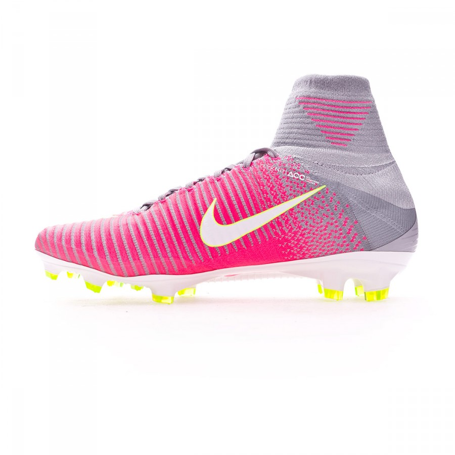 ... discount code for bota de fútbol nike mercurial superfly v acc fg mujer  hyper pink wolf 13a94a03f49b4