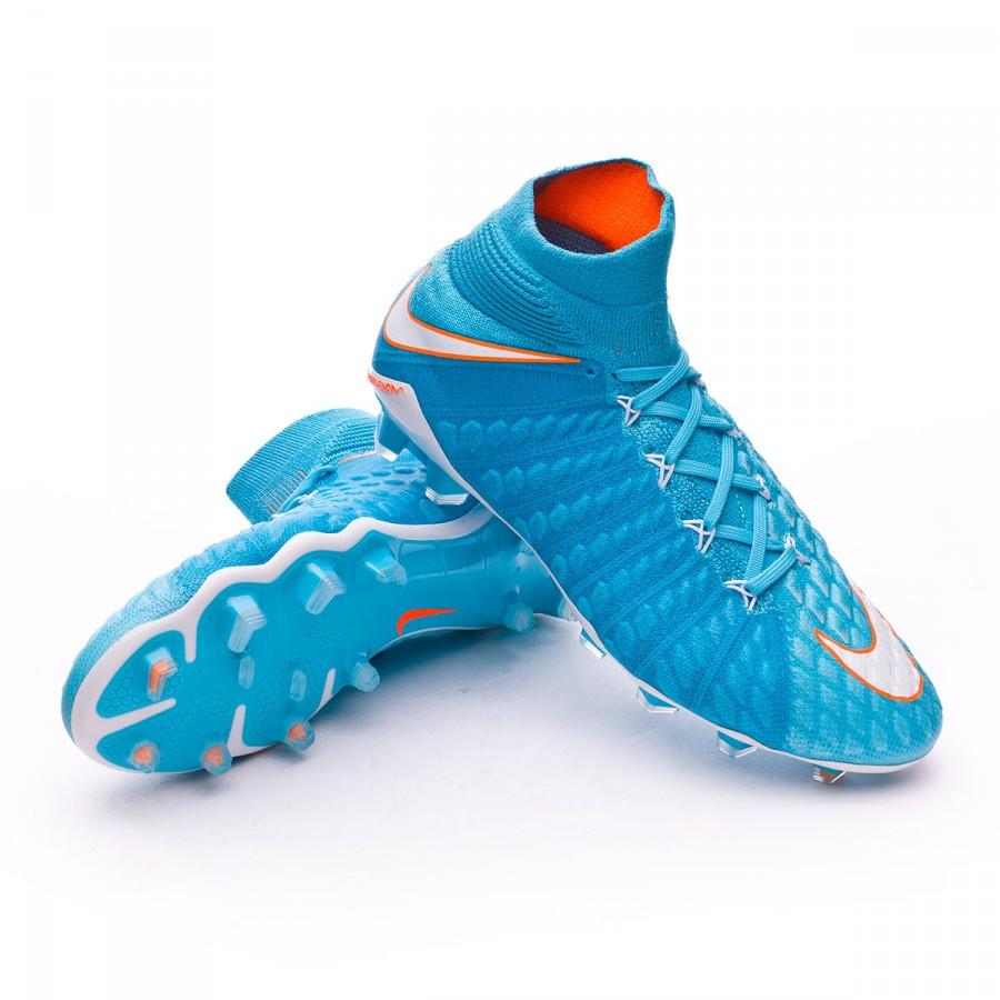 best website d7760 2a6e5 Bota de fútbol Nike Hypervenom Phantom III ACC DF FG Mujer Polarized  blue-Chlorine blue-Tart - Soloporteros es ahora Fútbol Emotion