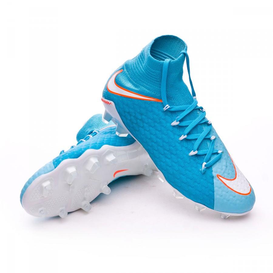 1c612a3e8 Nike Hypervenom Phatal III DF FG Mujer Football Boots. Polarized blue- Chlorine ...