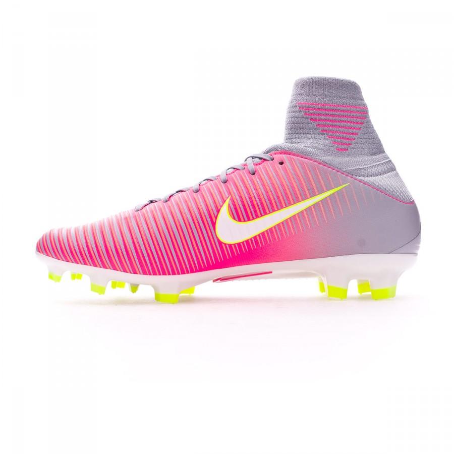 sports shoes c24f3 8b0b6 Football Boots Nike Mercurial Veloce III DF FG Mujer Hyper pink-Wolf  grey-Tart - Football store Fútbol Emotion