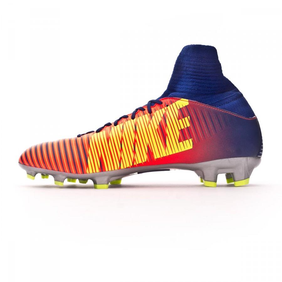 on sale 9a518 b2d66 Boot Nike Jr Mercurial Superfly V FG Deep royal blue-Chrome-Total crimson -  Football store Fútbol Emotion