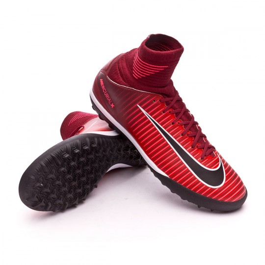 Chaussure de futsal  Nike jr MercurialX Proximo II DF Turf Team red-Racer pink-White
