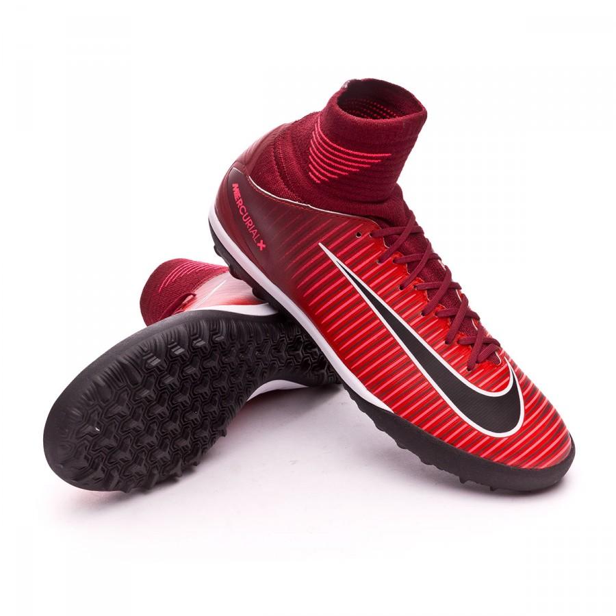 b7b75a387aae7 Zapatilla Nike MercurialX Proximo II DF Turf Niño Team red-Racer pink-White  - Tienda de fútbol Fútbol Emotion