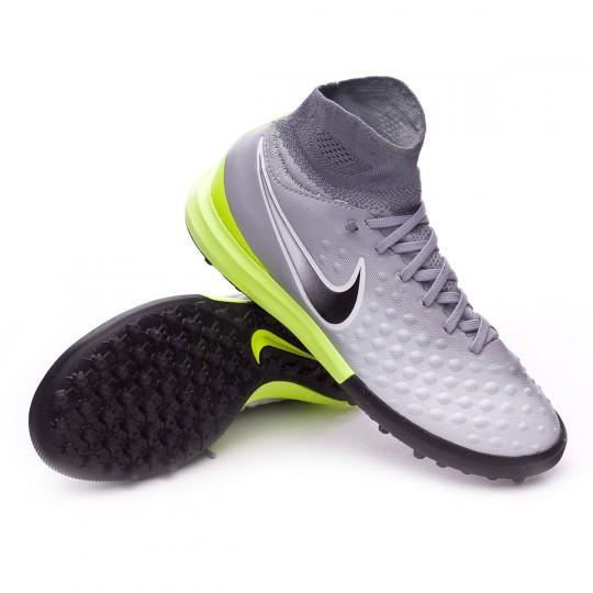 Zapatilla de fútbol sala  Nike jr MagistaX Proximo II Turf Wolf grey-Cool grey-Pure platinum