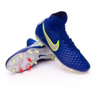 Chuteira  Nike Jr Magista Obra II FG Deep royal blue-Chrome-Total crimson