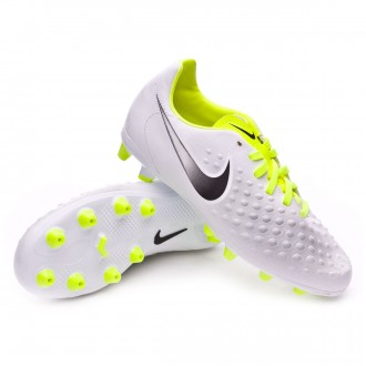 Bota  Nike Magista Opus II AG-Pro Niño White-Volt-Pure platinum