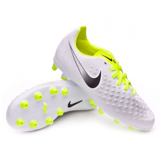 Chaussure  Nike jr Magista Opus II AG-Pro White-Volt-Pure platinum