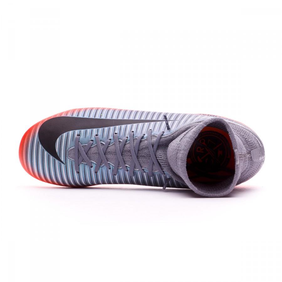 a0d5ec8e6 Football Boots Nike Kids Mercurial Superfly V CR7 FG Cool grey-Metallic  hematite-Wolf grey - Football store Fútbol Emotion