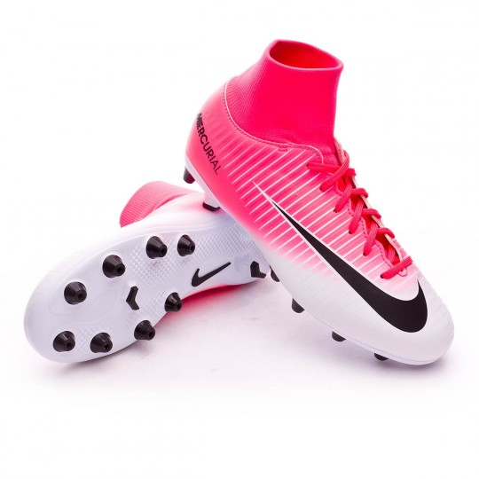 Chaussure  Nike jr Mercurial Victory VI DF AG-Pro Racer pink-White