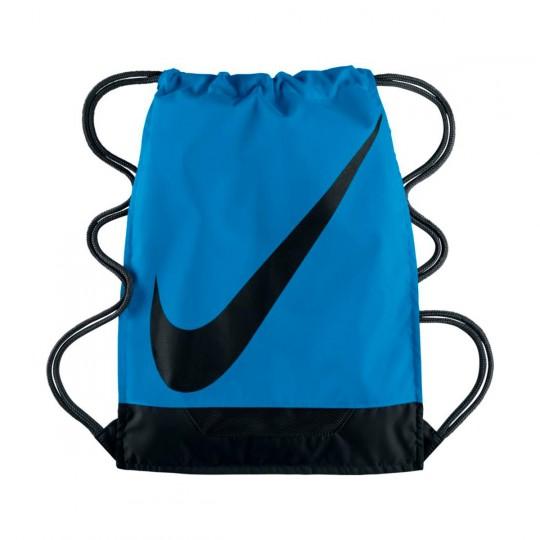 Saco  Nike 3.0 Gym Sack Light photo blue-Black