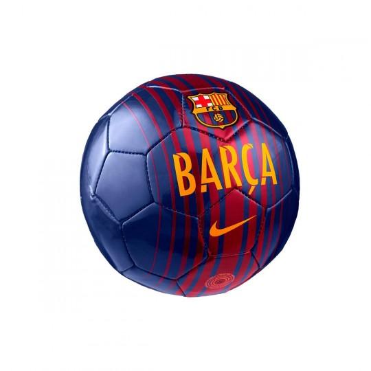 Balón  Nike Mini FC Barcelona 2017-2018 Deep royal-Noble red-University gold