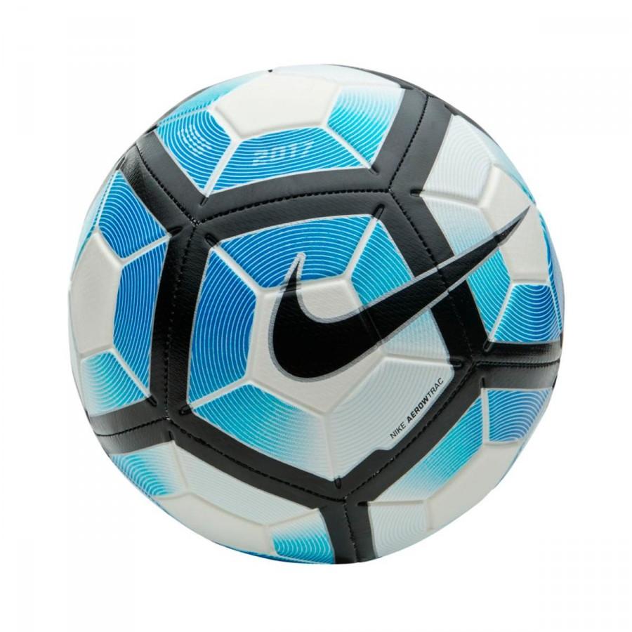 679d51fe2b41f Balón Nike Strike Football White-Photo blue-Black - Tienda de fútbol Fútbol  Emotion