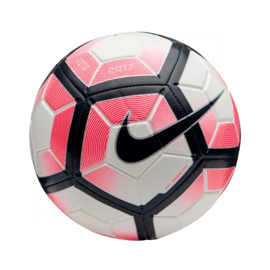 Balón  Nike Strike Football White-Racer pink-Black