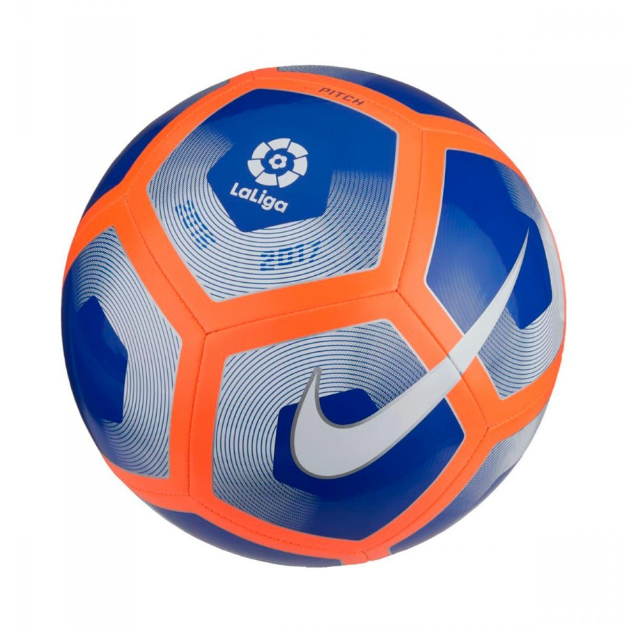 7f684c5fc Ball Nike Liga BBVA Pitch Football Blue-Orange-White - Football ...