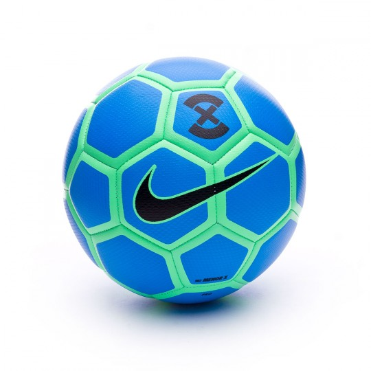 Ballon  Nike Menor FootballX Photo blue-Electro green-Black