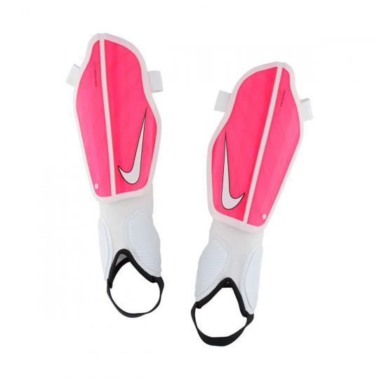 Espinillera  Nike Protegga Flex Racer pink-White