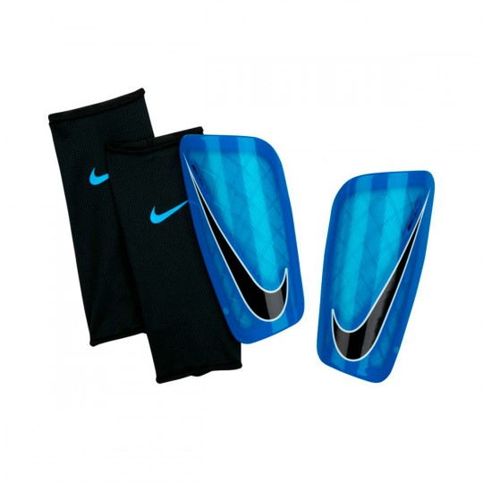 Espinillera  Nike Mercurial Lite Photo blue-Chlorine blue-Black