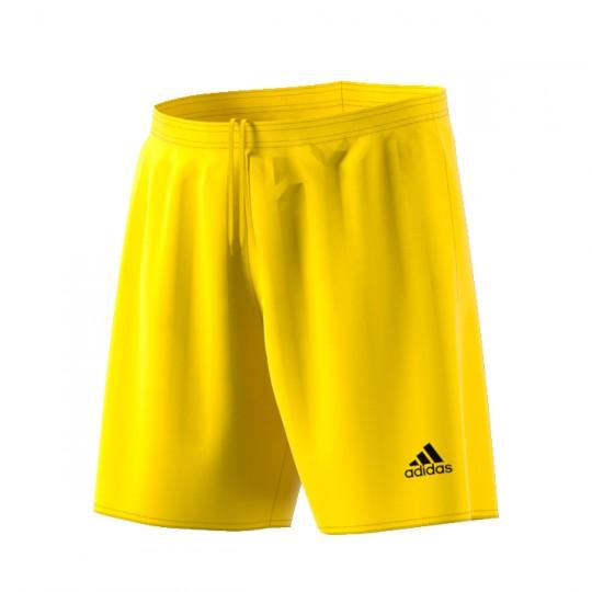 Pantalón corto  adidas Parma 16 Amarillo