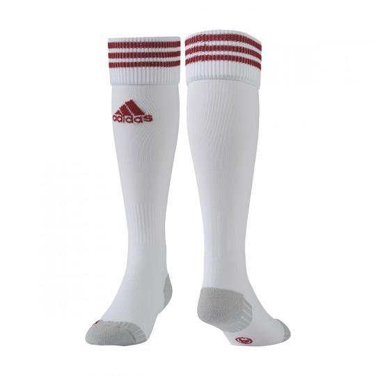 Chaussettes   adidas Adisock 12 Blanc-Rouge