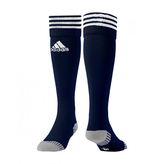 Chaussettes   adidas Adisock 12 Bleu marine-Blanc