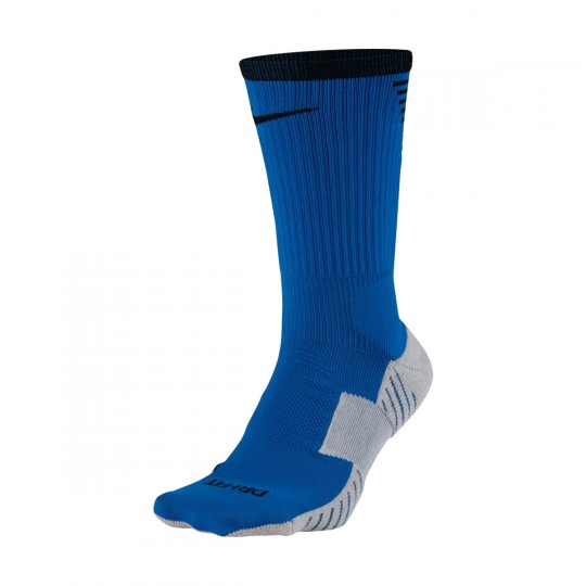 Calcetines  Nike Dry Squad Crew Football Paramount blue-Wolf grey-Black