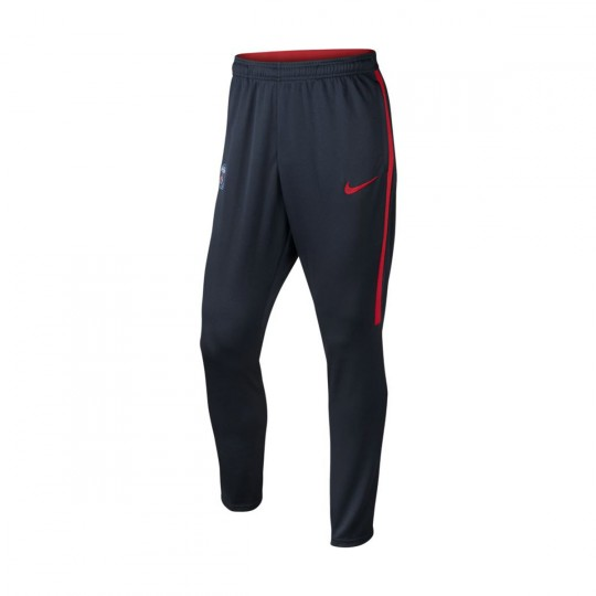 Pantalón largo  Nike Paris Saint-Germain Dry Strike 2016-2017 Dark obsidian-University red