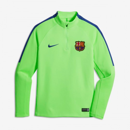 Camiseta  Nike jr FC Barcelona Drill Top 2016-2017 Ghost green-Game royal