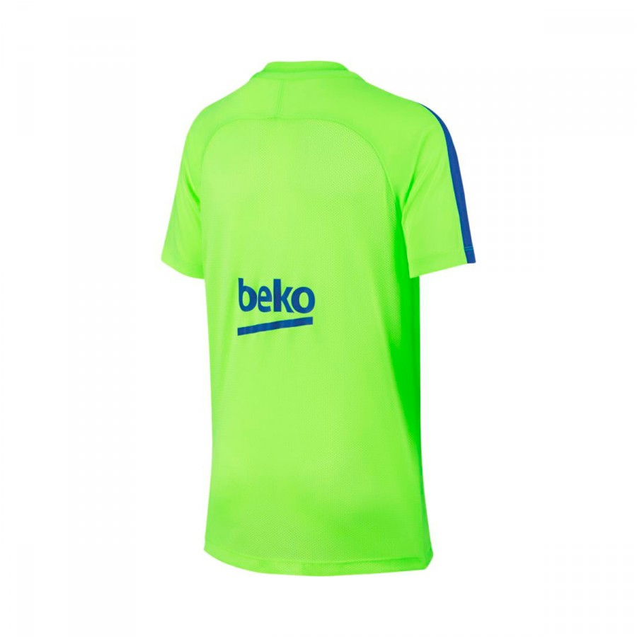 f0fc30d4f ... Camiseta FC Barcelona Training 2016-2017 Niño Ghost green-Game royal.  CATEGORY