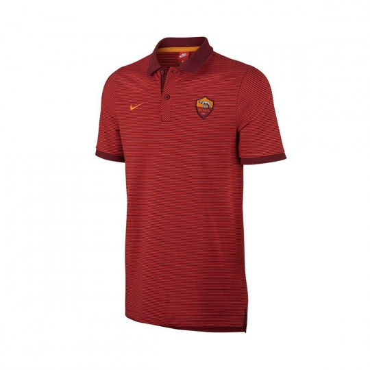 Polo  Nike AS Roma 2016-2017 Team red-Kumquat