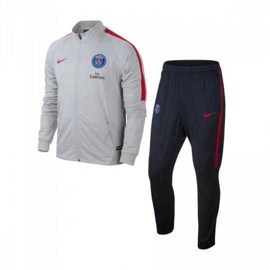 Chándal  Nike jr Paris Saint-Germain 2016-2017 Wolf grey-University red