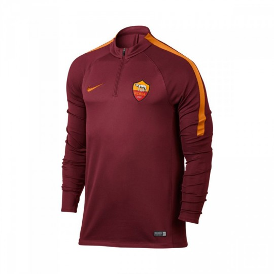 Sudadera  Nike jr AS Roma Drill Top 2016-2017 Team red-Kumquat