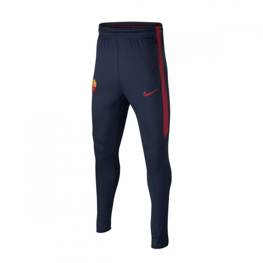 Pantalón largo  Nike jr AS Roma 2016-2017 Obsidian-Team red