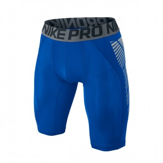 Malla  Nike Pro Hyperstong Football Slider Paramount blue-Black