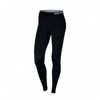Malla  Nike Pro Hypercool Tight Mujer Black-Pure platinum