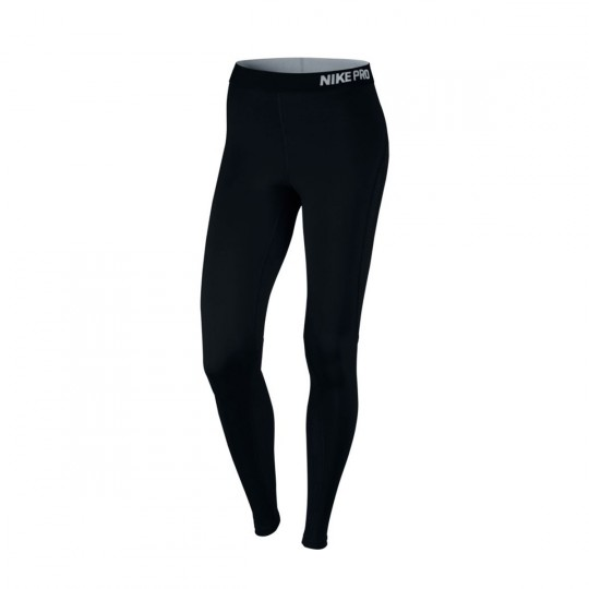 Leggings  Nike Pro Hypercool Tight Mujer Black-Pure platinum