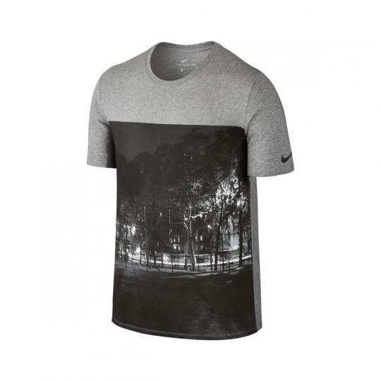 Camiseta  Nike FootballX Photo Dark grey heather