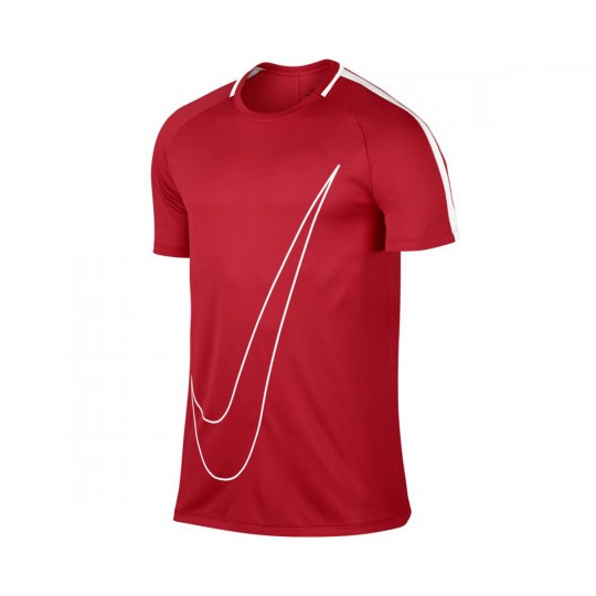 Maillot  Nike Dry Academy Football University red-White