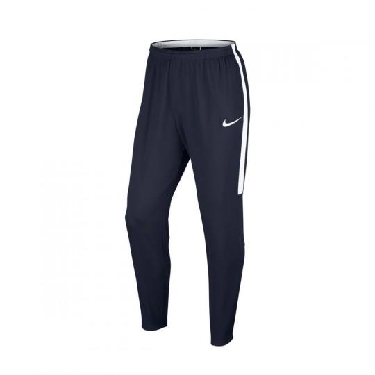 Pantalón largo  Nike Dry Academy Football Obsidian-White
