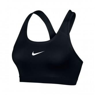 Soutien Desportivo  Nike Pro Classic Bra Black-White
