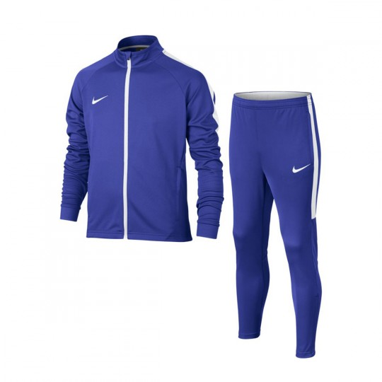 Chándal  Nike jr Dry Academy Paramount blue-White