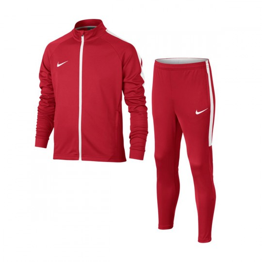 Chándal  Nike jr Dry Academy University red-White