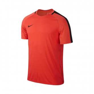 Camiseta  Nike Dry Squad Football Max orange-Black