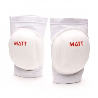 Knee pads  Matt Protective White