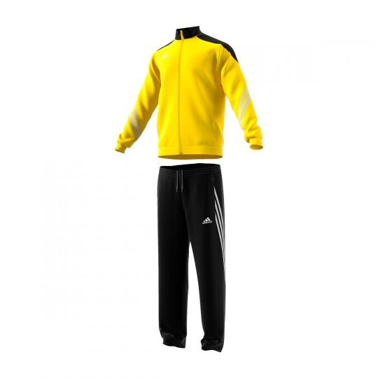 Chándal  adidas jr Sereno 14 Amarillo-Negro