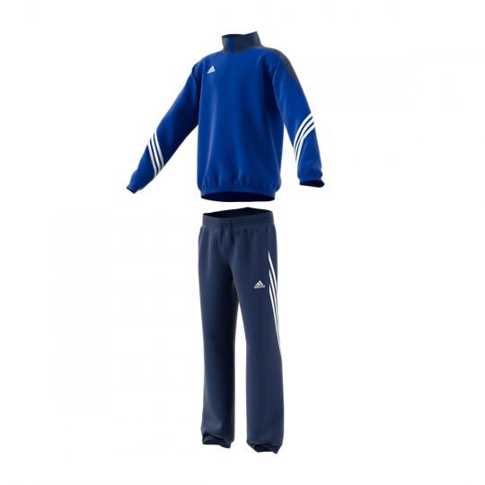 Chándal  adidas jr Sereno 14 Azul royal-Negro