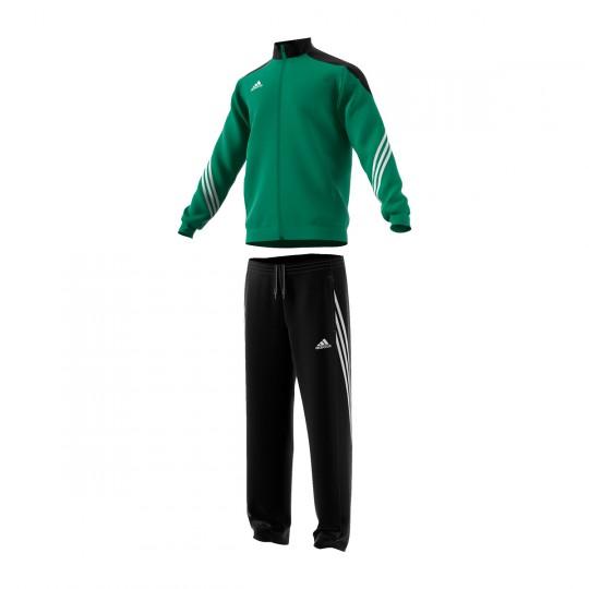 Chándal  adidas jr Sereno 14 Verde-Negro