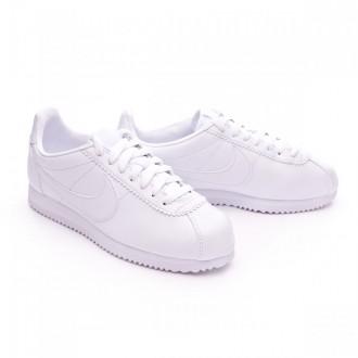 Sapatilha  Nike Classic Cortez Leather Mujer White