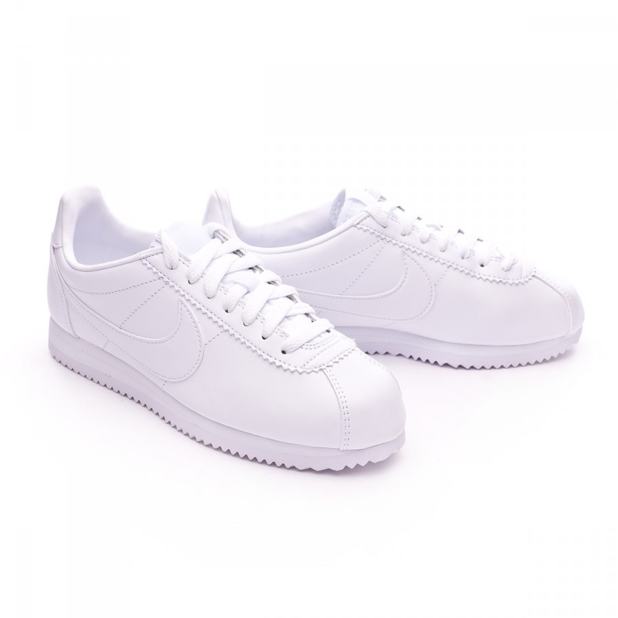 sports shoes 28d50 fb3ff Zapatilla Classic Cortez Leather Mujer White
