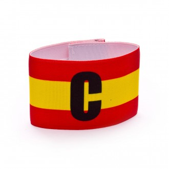 Captain's Armband Mercury Spain  Red-Yellow