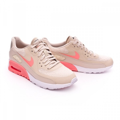 fbafdf7eb0 Trainers Nike Air Max 90 Ultra 2.0 Mujer Oatmeal-Lava glow-White-Dark grey  - Football store Fútbol Emotion
